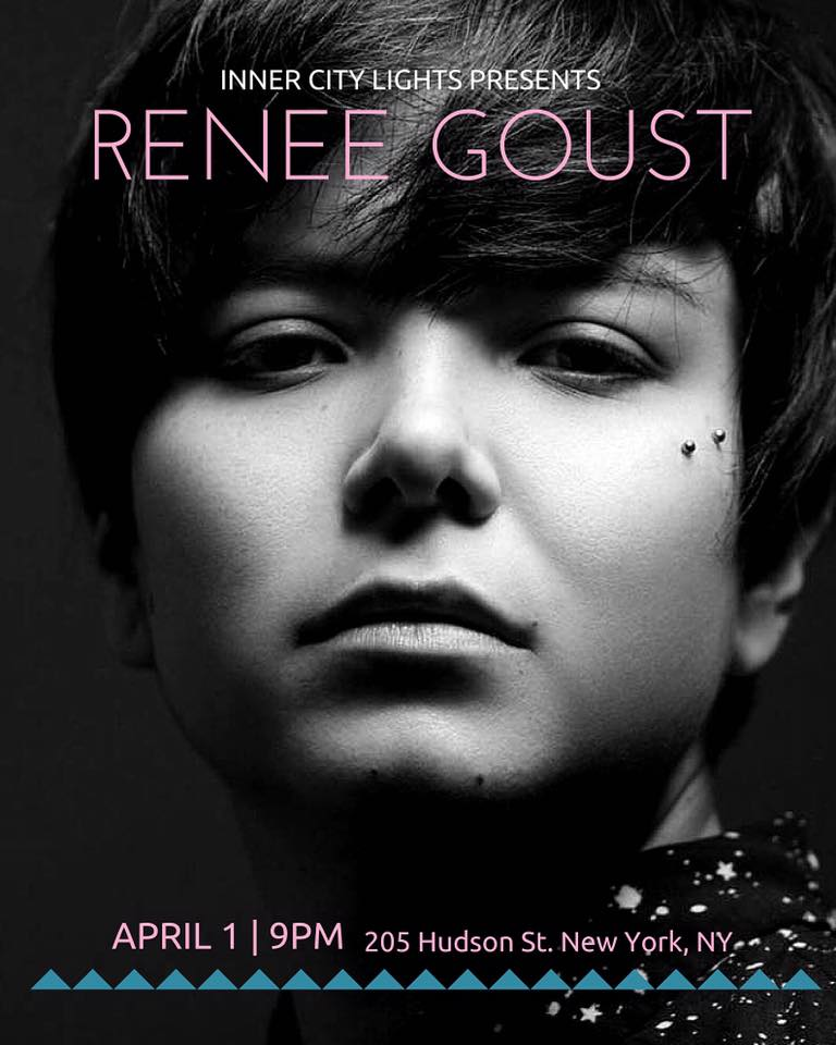 Renee Goust Inner City April 1 2016