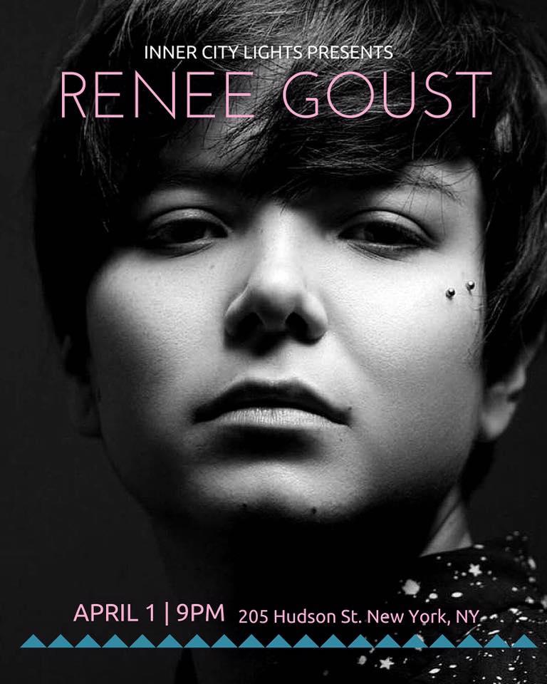 Renee Goust Inner City April 1 2016